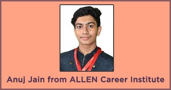 allen career institute s anuj jain to represent team india in ieso 2018