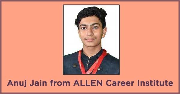 allen career institute s anuj jain to represent team india in ieso 2018