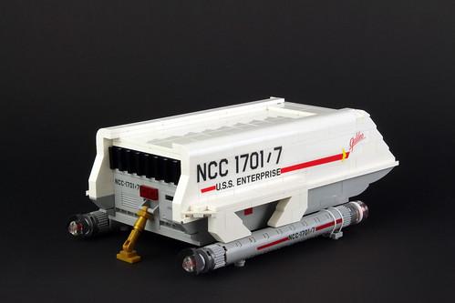 Enterprise 1701 shuttle Galileo