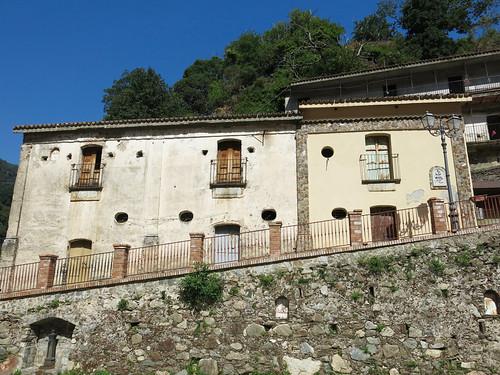 Santuario della Madonna della Montagna di Polsi - Le Case