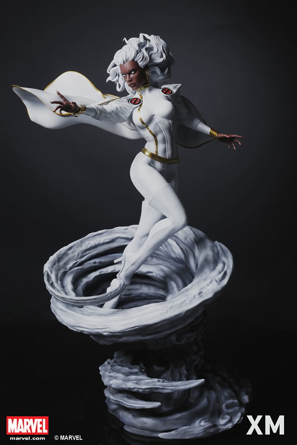 XM Studios Premium Collectibles 系列 Marvel Comics【暴風女】Storm 1/4 比例全身雕像作品