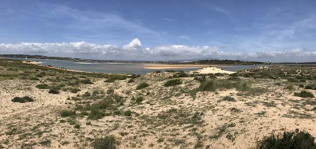 View from Boardwalk - Alvor, Algarve, Portugal - April 2018