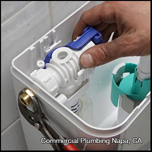 commercial plumbing napa ca