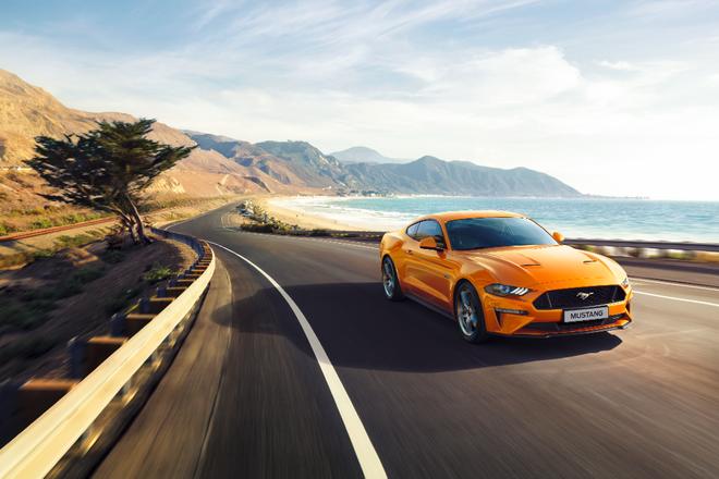 【圖一】 Ford Mustang的美式經典肌肉跑格魅力長期受到全球消費者熱愛,並連續第三年榮登全球雙門跑車銷售冠軍。