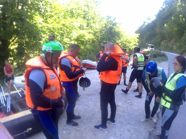 First rafting club in Bosnia