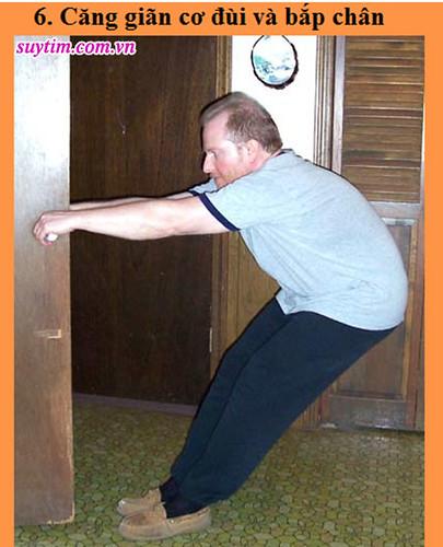 Động tác tập thể dục thứ 6 giúp tăng hiệu quả điều trị suy tim