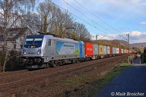 187 008 BLS in Bonn-Limperich am 29.03.2018