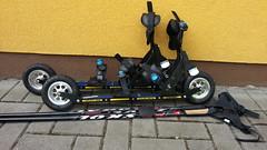 Kolečkové lyže SRB Offroad Skate XRS02-nové - titulní fotka