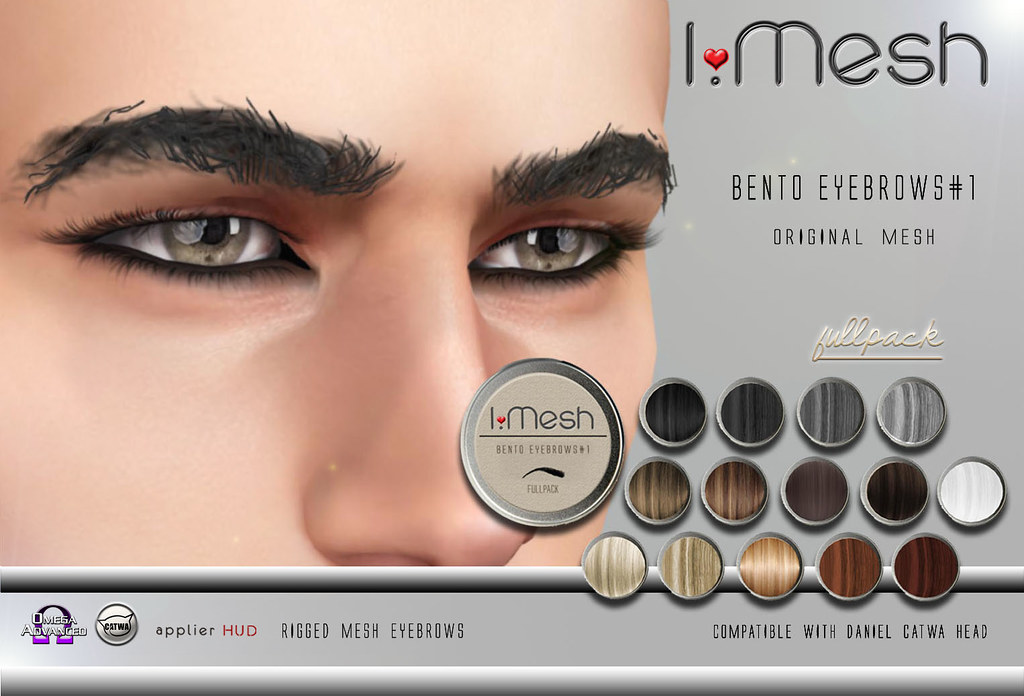 BENTO Eyebrows#1 - TeleportHub.com Live!