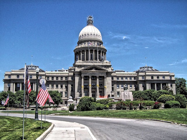 Boise Idaho - State Capitol Building - Historical