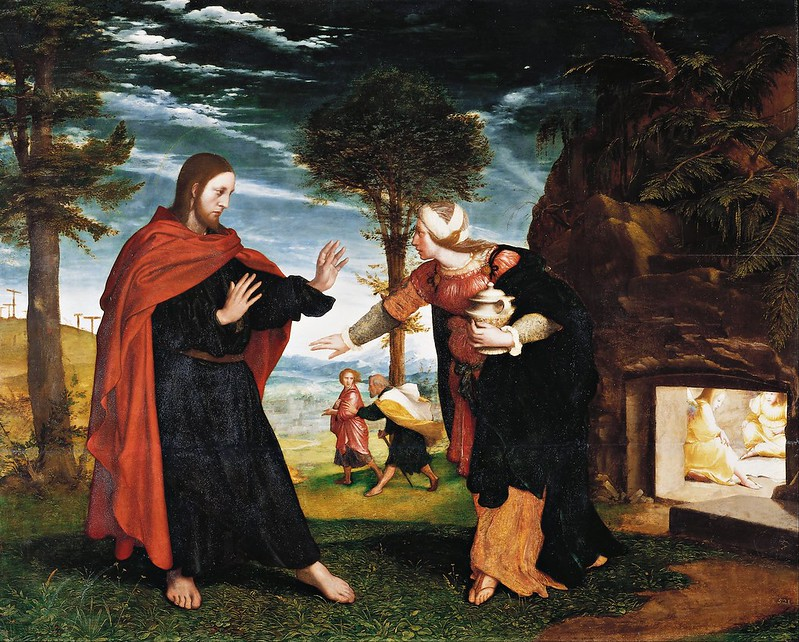Hans Holbein II - Noli Me Tangere (c.1527)