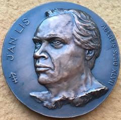 Jan Lis medal 1988 obv