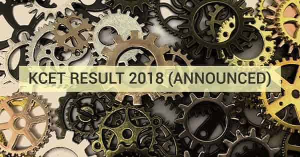 kcet 2018 result announced