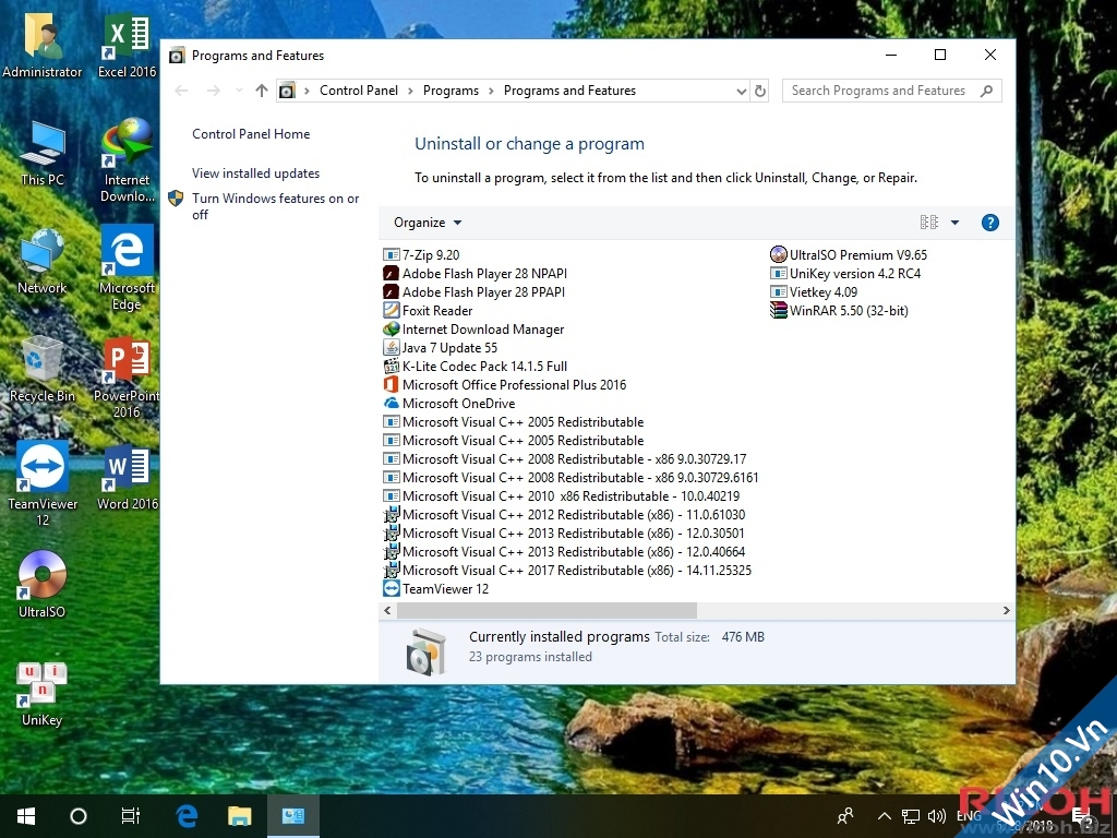 Download Ghost Win 10 Pro 1803 Redstone 4 Build 17134.1 Update 28/05/2018 x86 & x64 43