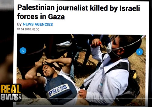 David Swanson and Norman Finkelstein: Gaza Finds Nonviolence + Ali Abunimah: Israel Massacres Unarmed Gaza Protesters Again