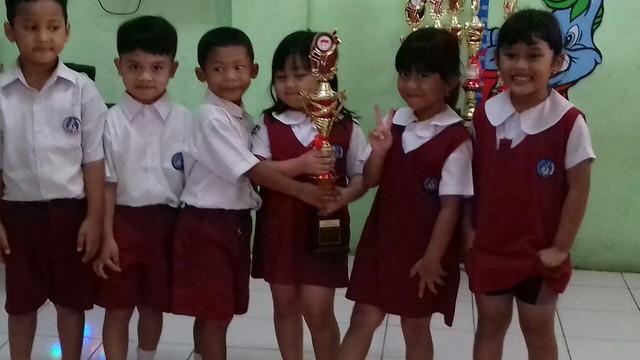Juara II Lari Bendera tingkat Kecamatan Karawaci