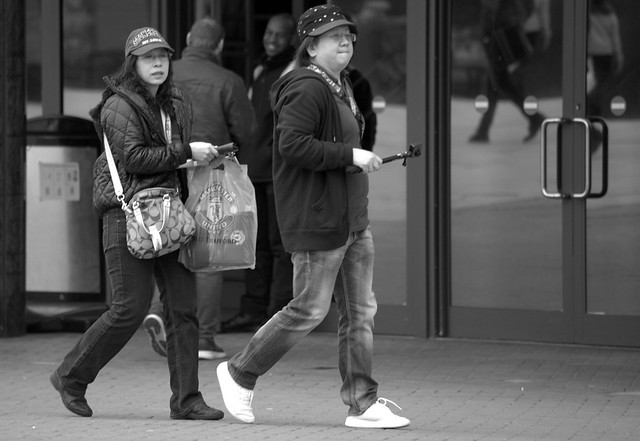 Candid at Old Trafford, Manchester