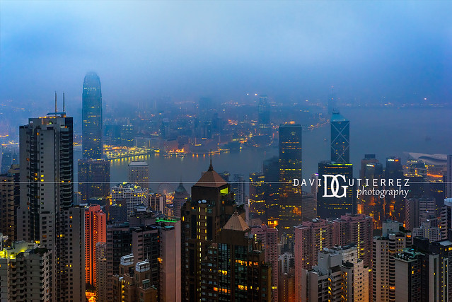 Morning Mist - Hong Kong
