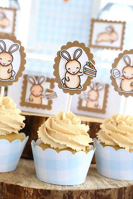 bunny party (for Lawn Fawn)