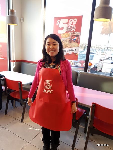 KFC apron