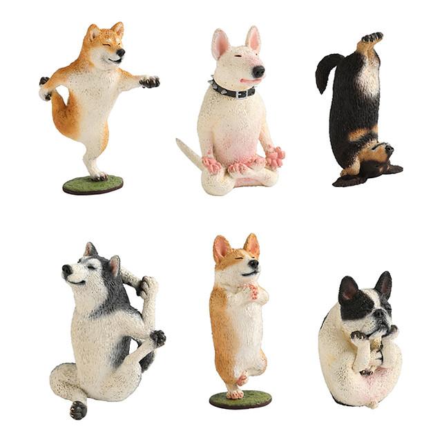 超人氣《朝隈俊男》ANIMAL LIFE 「狗瑜珈大師」盒玩 再次販售!犬のヨガマスター