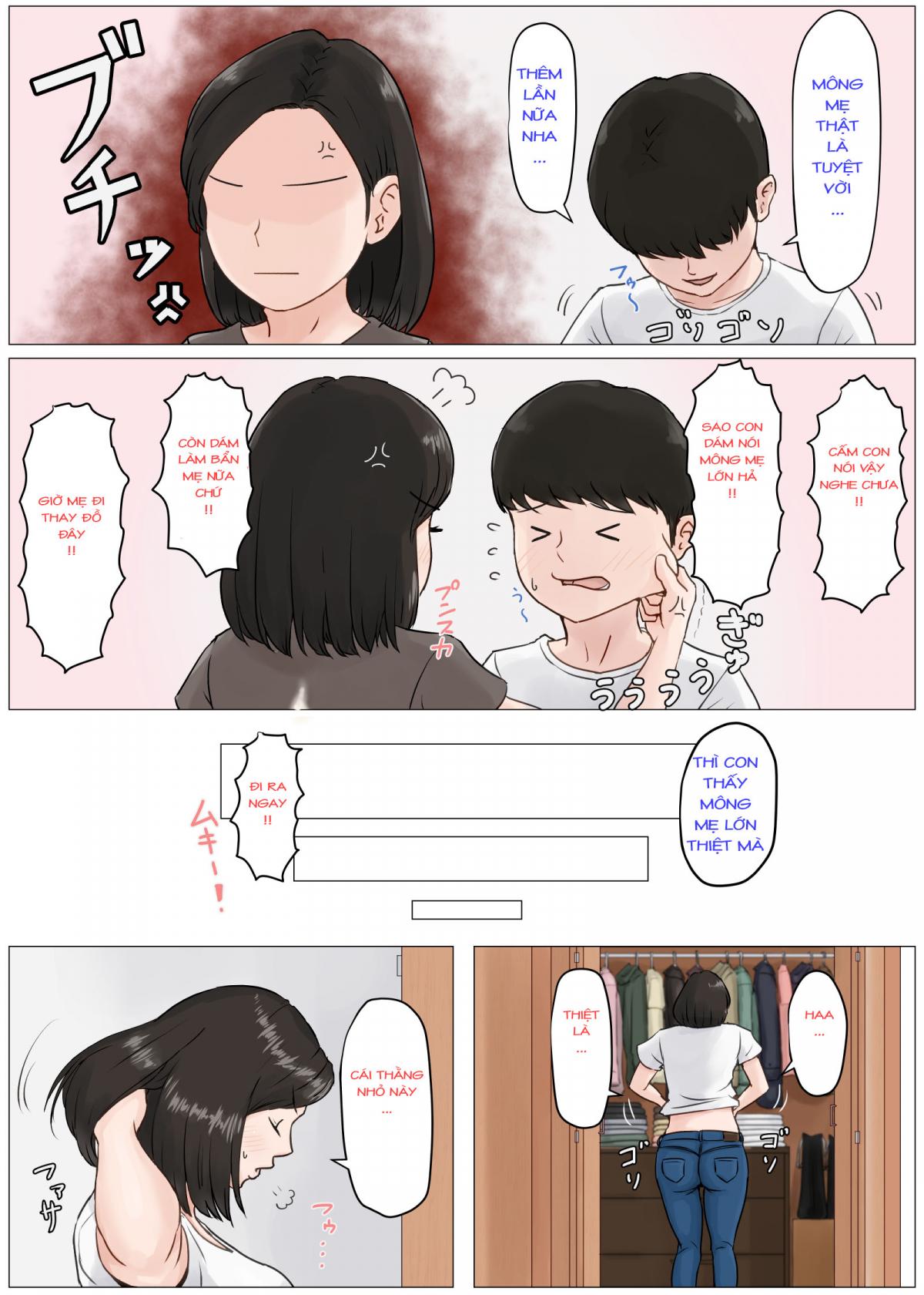 HentaiVN.net - Ảnh 24 - Kaa-san Janakya Dame Nanda!! 3 ~Natsuyasumi Zenpen~ - Mother it has to be you ~Summer Holiday First Part 1~ - Oneshot