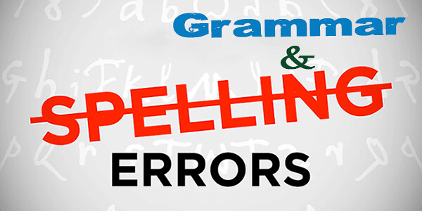 English-Grammar-And-Spelling-Errors