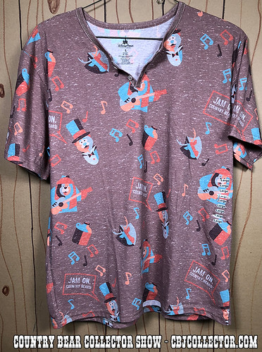 2018 Disney Style Country Bear Jamboree Shirt - Country Bear Collector Show #151