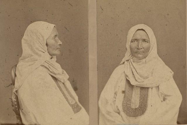 Антропологические портреты башкирских женщин