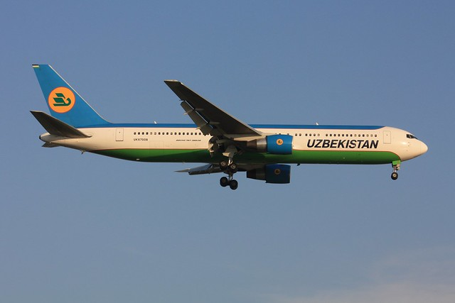 767-300ER  UK 67008, Canon EOS 450D, Canon EF-S 55-250mm f/4-5.6 IS