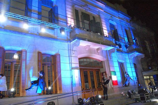 Festejos por los 100 años del Teatro Cine Italiano de Lobos