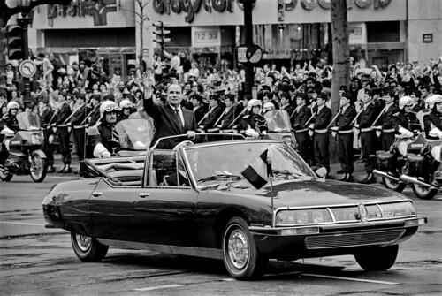 Citroën SM Présidentielle Mitterand