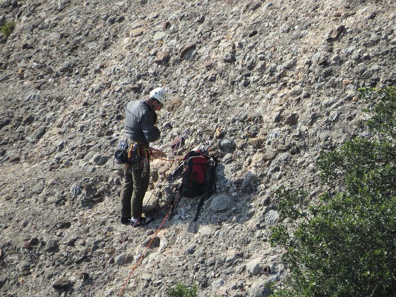 Escaladores en montañas de MontserratMiranda de Sant AntoniIMG_1274