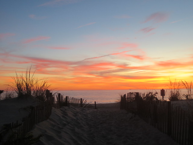 Bethany Beach Sunrise 1, Canon POWERSHOT ELPH 110 HS