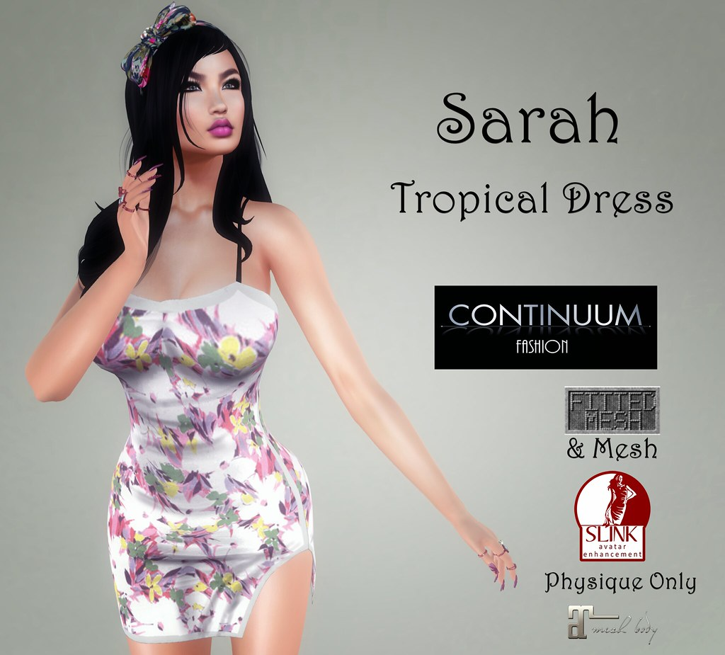 Continuum Sarah Tropical Dress – GIFT