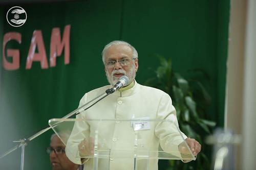 H.S. Upashak, General Secretary SNM UK
