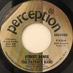 THE FATBACK BAND:STREET DANCE(LABEL SIDE-A)