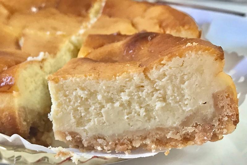 カド珈琲のチーズケーキ
