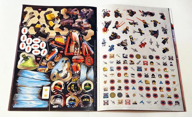 LEGO® NINJAGO®. Wyzwania z naklejkami. Uliczne pojedynki (3)