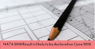 NATA 2018 result is likely to be declared on 1 June 2018