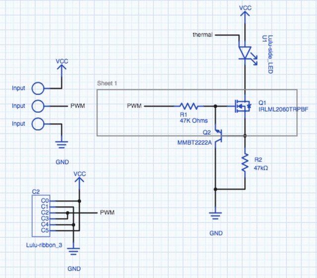 Lulu schematic prototype 1