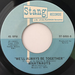 WHATNAUTS:LET ME BE THE SPECIAL ONE(LABEL SIDE-B)