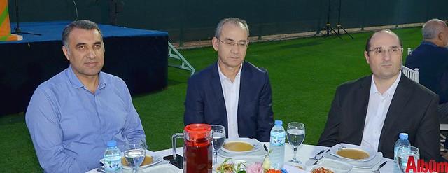 Mustafa Harputlu, Ahmet Pınarbaşı, Bülent Adil Taşbaş