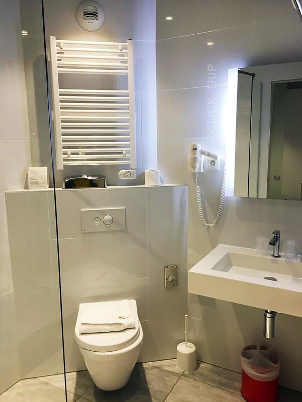 Baño (WC) del Colmar Hotel · Descubre Colmar en Navidad · Hoteles en Colmar · Alsacia · Francia · Click_Trip ·