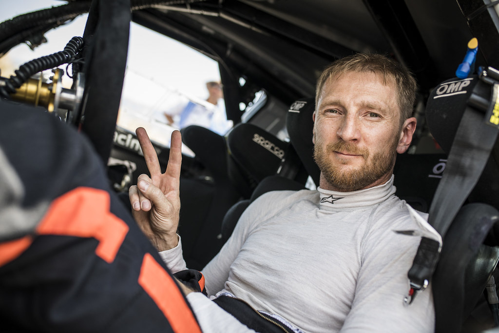 LUKYANUK Alexey (rus), ARNAUTOV Alexey (rus), Russian Performance Motorsport, FORD FIESTA R5, portrait during the European Rally Championship 2018 - Acropolis Rally Of Grece, June 1 to 3 at Lamia - Photo Gregory Lenormand / DPPI