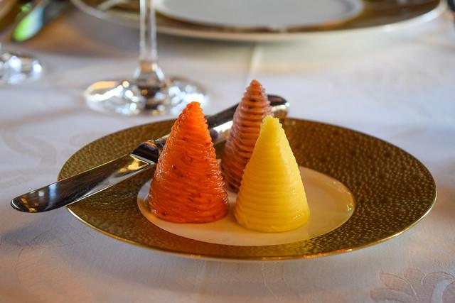 Flavoured Butters at Chateau de la Treyne