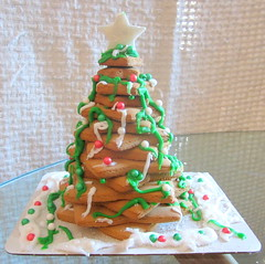 Decorating Gingerbread House and Tree