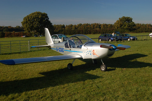 G-CCAC Evektor EV-97A (PFA 315-13979)  Popham 121008