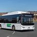 Go North East 9082 (demonstrator): Yutong E12LF Electric bus YK66CBC