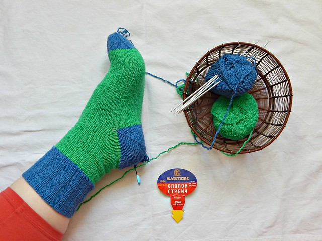 первый-носок